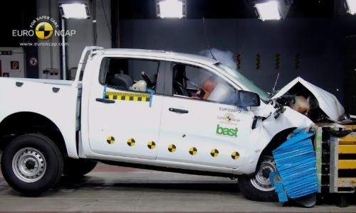 Ford Ranger CrashTest