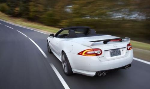 jaguar xkr-s convertible