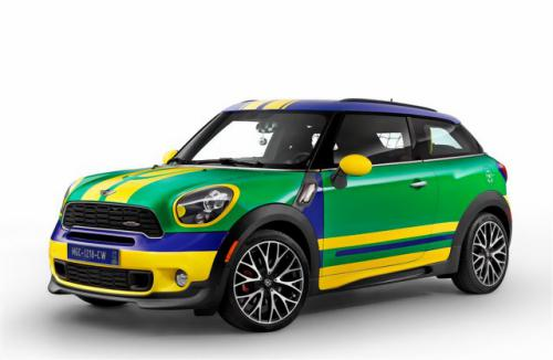 1 MINI Paceman GoalCooper