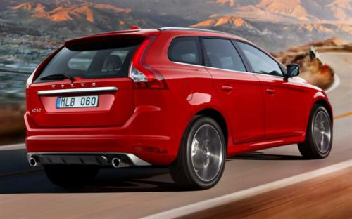 1 Volvo XC60 AWD R-Design rear