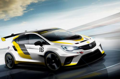 1 Opel Astra TCR